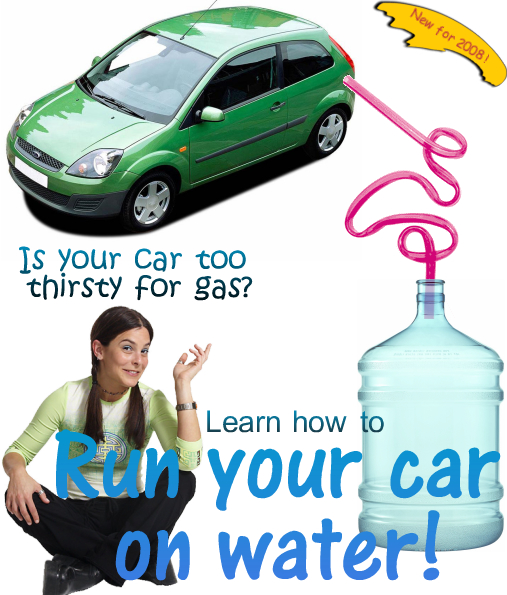 Run Your Car On Water Plans
