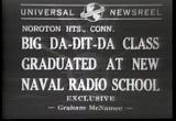 Big Da-Dit-Da Class Graduated At New Naval Radio School 1 Telephone Telegraph history films movie download
