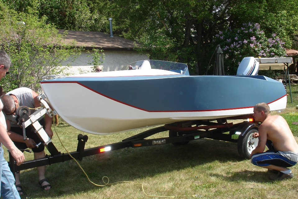 Playboy Runabout Boat Plans Side