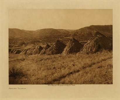 Edward Curtis American Indian Art Sample Plains
