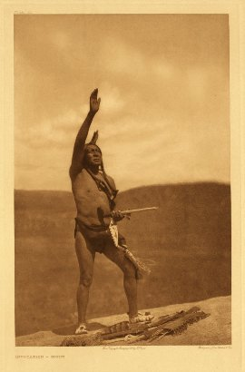 Edward Curtis American Indian Art Sample Indian Chief