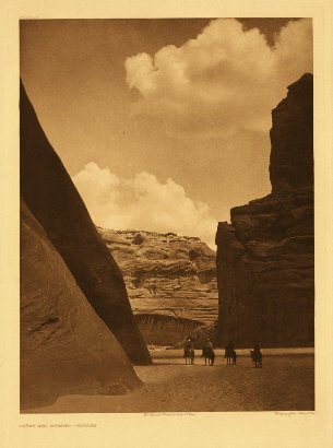 Edward Curtis American Indian Art Sample Canyon