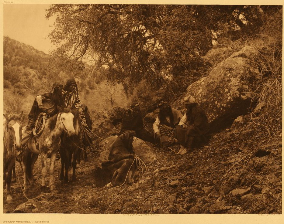 Edward Curtis American Indian Art Sample Indian Hill