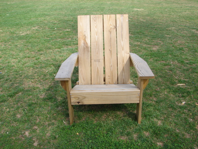 Customer Adirondack Chair Plans