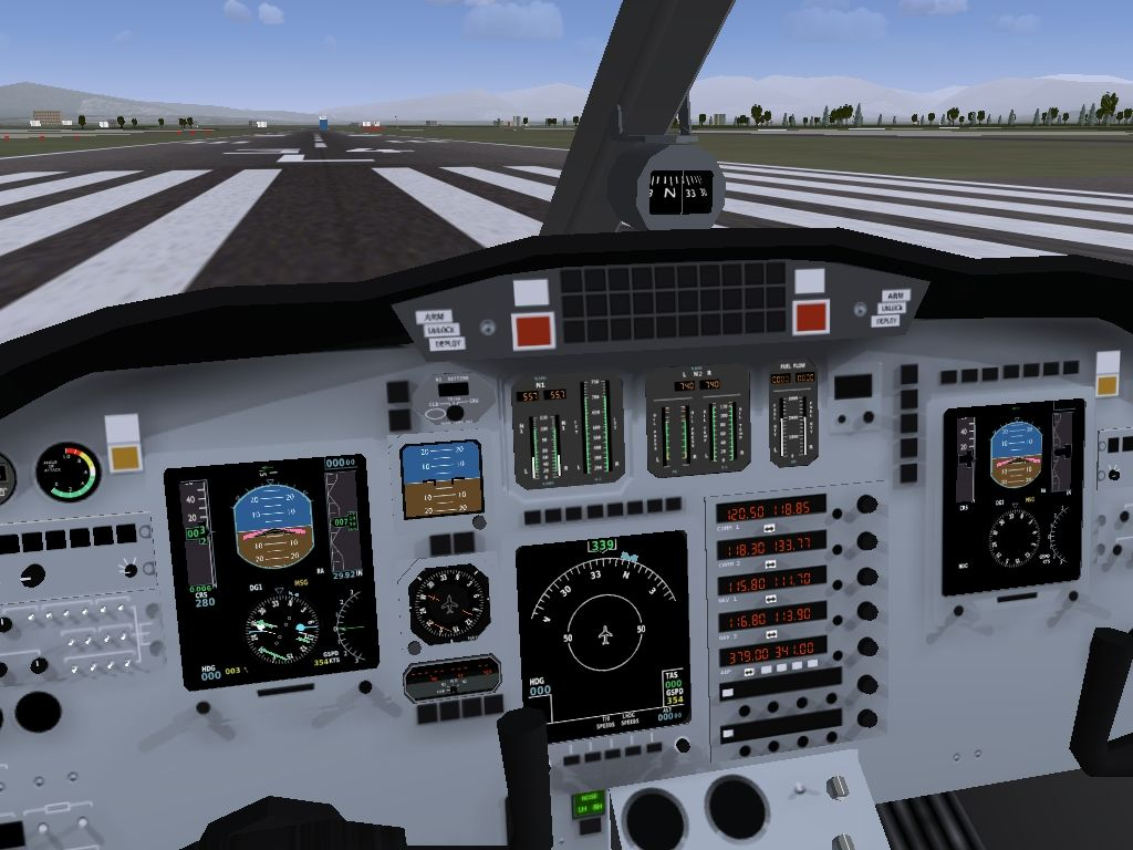 Flight Simulator Runway