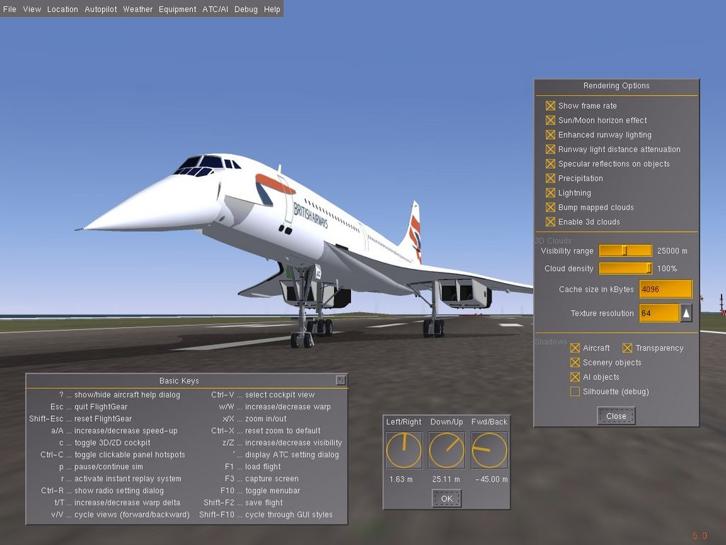 Flight Simulator Concorde