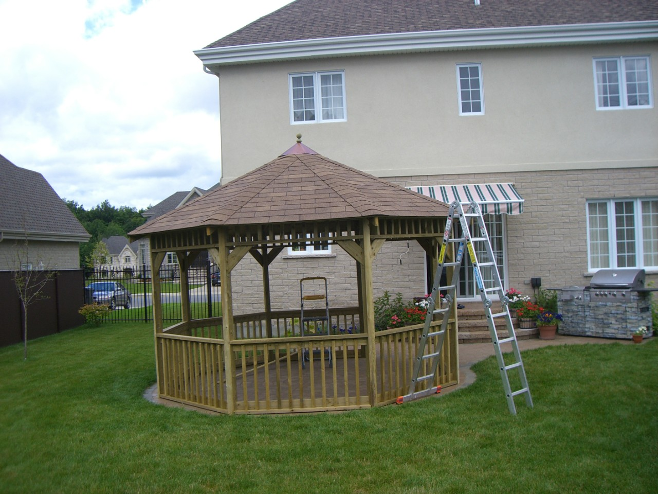 Customer Gazebo Plan Side