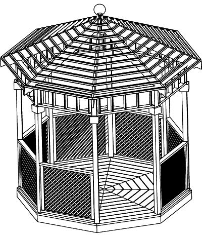 complete set cheap gazebo plans step by step instructions download Home Gazebo Plans 10 ft open air gazebo plan home gazebo plans