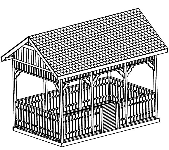 Rectangle Gazebo Plans Pdf