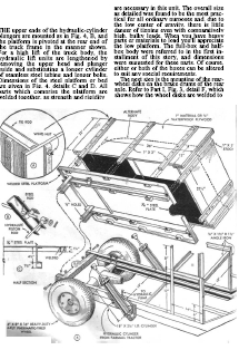 wood dump cart plans