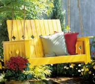 free deck swing plan