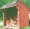 free wood shed plan