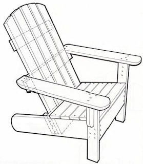 Adirondack Chair Set Plans
