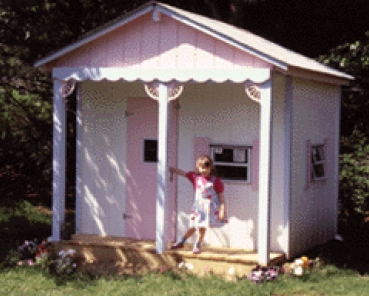 Wood Playhouse Plans