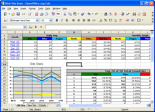 Calc windows excel screen shot