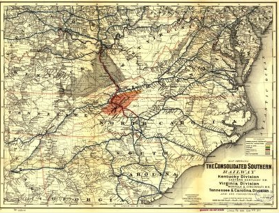 Historical Railroad Map Collection