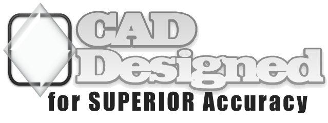 CAD designed for superior accuracy