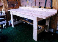 Wood Workshop Table Plans