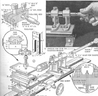 wood lathe plans blueprints