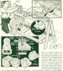 Woodworking Lathe Plans