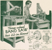 Make a Wood BandSaw Machine Plans