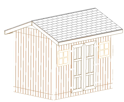 Share online gable shed plans 8x12 for Slant roof shed plans