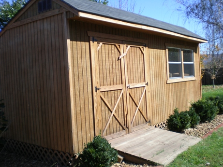 10X12 GABLE BACKYARD SHED, STORAGE FOR YOUR YARD TOOLS, CAD DESIGNED CD OF  PLANS 741533272563 | EBay